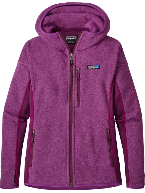 Patagonia W's Performance Better Sweater Hoody Ikat Purple